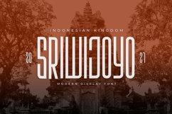 Sriwijoyo - Sans Serif Font Product Image 1