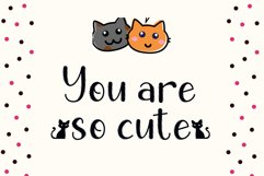 Chic Cat - Cute Display Font Product Image 2