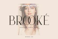 Brooké Serif / Best Seller Product Image 1