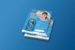 Kids Swimming School Flyer Brochure Template Product Image 2