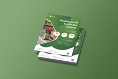 Professional Trash Bin Cleaner Flyer Template Product Image 2