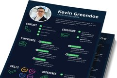 Resume Template Vol 24 Product Image 2