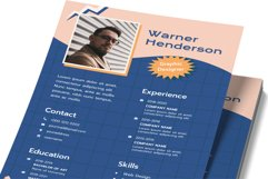90's Resume Template Design Product Image 2