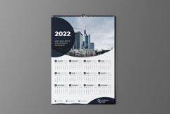 Black Circle One Page Calendar 2022 Product Image 2