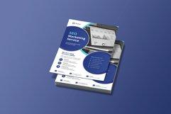 SEO Digital Marketing Flyer Template Product Image 2
