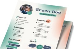 Vol.31 Style Old Resume Template Product Image 2
