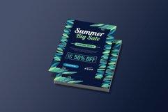 Summer Jungle Sale Flyer Brochure Template Product Image 2