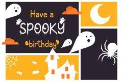 Creepy Ghost - A Halloween Display Font Product Image 3