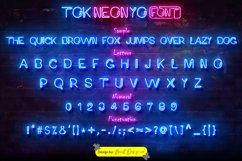 Tok Neon Yo Font Product Image 2