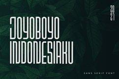 Sriwijoyo - Sans Serif Font Product Image 3