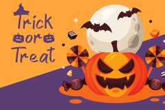 Spooky Place - A Halloween Brush Font Product Image 3
