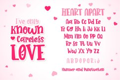 Heart Apart Lovely Font Product Image 5