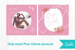 Fashion shop pink color instagram post canva template Product Image 2