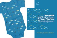 Cute 15 Airplanes Clipart Set Plus Pattern Product Image 3