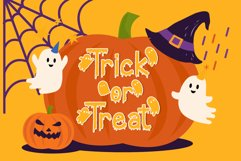 Creepy Ghost - A Halloween Display Font Product Image 4