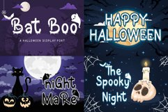 The Halloween Craft Fonts Bundle Product Image 4