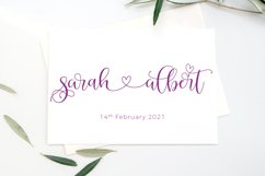 Abygail Lovely Script Product Image 3