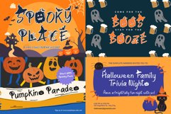 The Halloween Craft Fonts Bundle Product Image 5