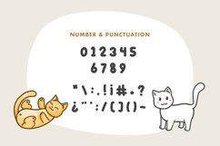 Kitto Katto Cat Font Duo with Bonus Product Image 3