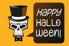 Creepy Ghost - A Halloween Display Font Product Image 5