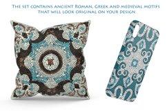 28 Vector Ceramic Patterned Mosaics Bundle Product Image 4