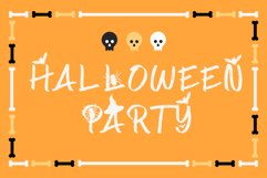 Spooky Place - A Halloween Brush Font Product Image 6