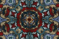 28 Vector Ceramic Patterned Mosaics Bundle Product Image 5