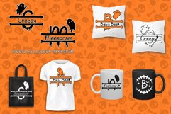 The Halloween Craft Fonts Bundle Product Image 6