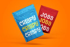 Snack Lover - Friendly Display Font Product Image 6