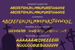 Yellow Pumpkin - Halloween Display Font Product Image 3