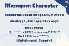 Mozaquen A Cute Playful Font Product Image 6