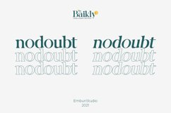 Baikly Font Product Image 2