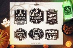 Halloween Label SVG Bundle   Halloween SVG Files Product Image 1