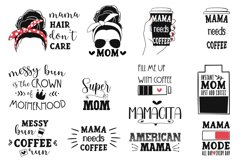Mama quotes EPS, PNG, SVG. Sublimation. Product Image 2