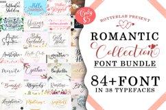 Romantic Collection Font Bundle Product Image 1