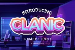 Clanic Font Product Image 1