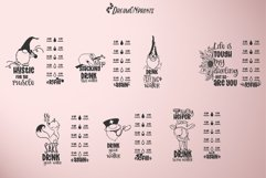 Water Bottle Tracker SVG Bundle | Drink Your Water Product Image 3