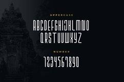 Sriwijoyo - Sans Serif Font Product Image 2