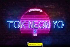Tok Neon Yo Font Product Image 1