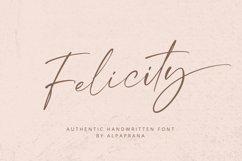 Felicity - Handwritten Font Product Image 1