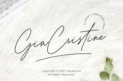 Gia Cristine - Elegant Signature Font Product Image 1