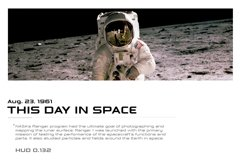 Astrohead geometric sans serif typeface Product Image 6