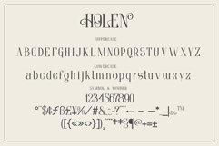 Holen Typeface Product Image 6