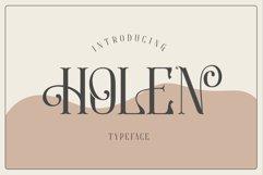 Holen Typeface Product Image 2