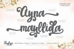 Hudiya - Modern Lovely Script Product Image 3