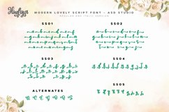 Hudiya - Modern Lovely Script Product Image 2
