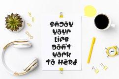 Life Hacks - Playful Display Font Product Image 6
