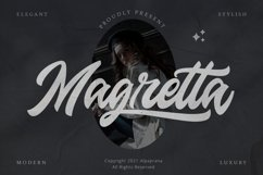 Magretta - Modern Script Font Product Image 1
