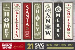 Mega Bundle | 21 Porch SVG Signs | Vintage Vertical Designs Product Image 2