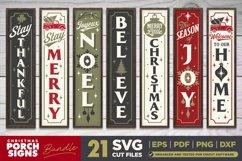 Mega Bundle | 21 Porch SVG Signs | Vintage Vertical Designs Product Image 3